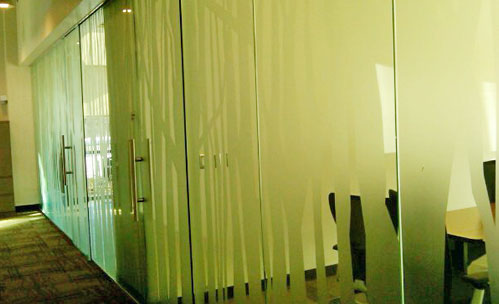 decorative plotter controlled window film