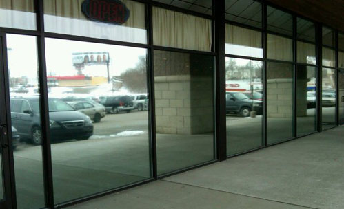 SV 30% restaurant commercial window tint